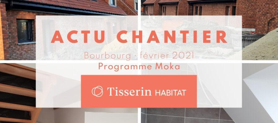 Actualité des maisons neuves à Bourbourg du programme Moka disponible en location accession en PSLA