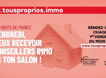 Affiche de Tous Proprios pour avoir des conseils immobiliers et notamment sur la location accession en PSLA